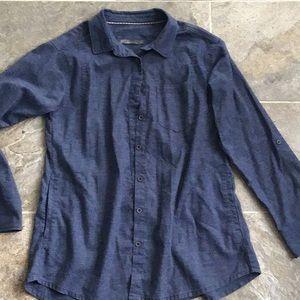 Prana Size Large Button Blouse